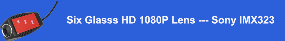 Six Glasss HD 1080P Lens --- Sony IMX323标题