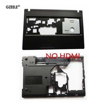 New Laptop Bottom Base Case Cover For Lenovo G570 G575 G575GX G575AX Without HDMI AP0GM000A201/Palmrest Upper Case new for lenovo y520 r520 r720 palmrest cover laptop bottom base case cover