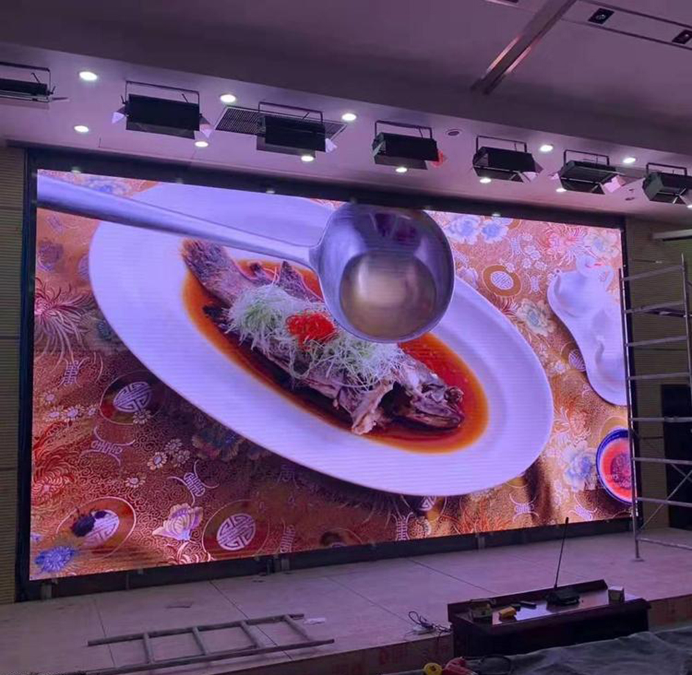 full front serviceability HD P2.5 640*480mm rental led display P2.5 Special stage LED screen