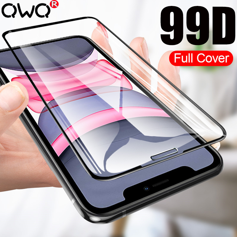 Protective Tempered Glass For IPhone 11 Pro Max XR X XS MAX Screen Protector For IPhone 6 6S 7 8 Plus Full Cover Accessories
