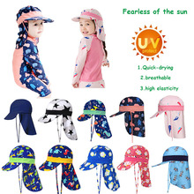 SPF 50+ Baby Sun Hat Adjustable Summer Baby Cap
