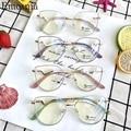 Модная оправа для очков в стиле кошачьи глаза антибликовыми свойствами светильник фильтром очки оптический зрелище UV400 компьютерных игр чт...