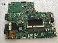 Yourui CN-0PTNPF 0 ptnpf ptnpf para dell inspira 3421 5421 placa-mãe do portátil com 1017u cpu 12204-1 pwb 5j8y4 rev a00 teste ok