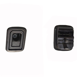 Dla Mitsubishi ASX Outlander bagażnik wewnętrzny bagażnik przycisk tylnej klapy wewnętrzna pokrywa dekoracyjna