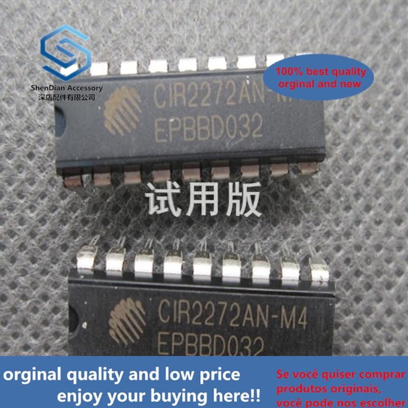 20ppcs 100% Orginal New Brand New Original CIR2272AN-M44 DIP-18 Built-in Amplification Fixed Code Decoding IC
