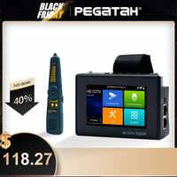4 Cal 4K H265 H264 Tester kamery ip 8MP AHD/TVI/CVI CVBS Tester kamery monitoringu Monitor PTZ kontroler szybki ONVIF IPC Tester POE
