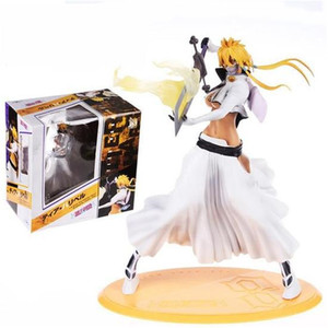 32cm Bleach Figurine Arrancar Tercera Espada Tear Halibel Cute Girl PVC Action Figure Toys For Collection Gift M5038(China)