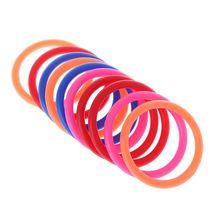 10 шт., пластиковые кольца-броши для детей