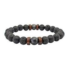 2020 Natural Stone Couple Bracelet Men Bacelets Handmade Lav