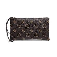 2019 ограниченная распродажа Женские кошельки, сумки с принтом, Длинные молнии, большие купюры, многофункциональные сумки для мобильных