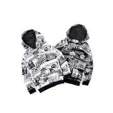 New Kids Hoodies Childen Cartoon Hoodies Clothes Korean Teenage Boys Loose Sport Tops Spring Long Sleeve Sweatshirts 4-14 Years