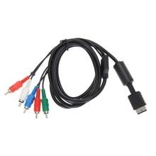 Cable AV HDTV de 1,8 m/6 pies, Cable de Audio y vídeo, componente AV A/V, Cable para Sony PlayStation 2 3 PS2 PS3