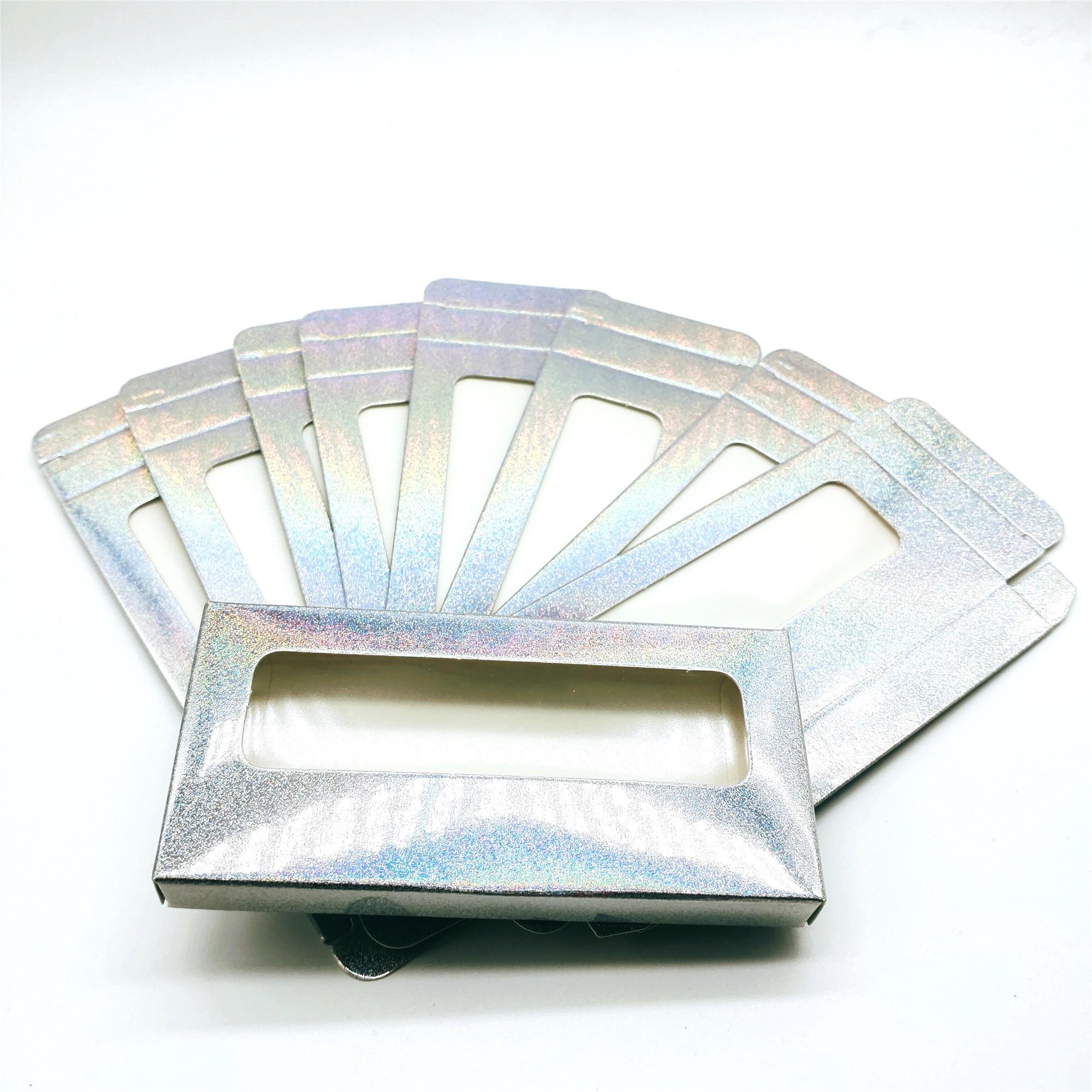 25 мм бумажная коробка для упаковки ресниц оптовая продажа картонная