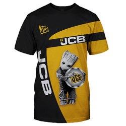 JCB-2020 mais novo 3d impressão legal engraçado camiseta masculina de manga curta verão topos camisa t camisa masculina moda t camisa para homem