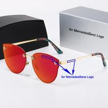 Car Sunglasses Women's Fashion Polarized Sunglasses for Mercedes Benz UV400 Protection Sunglasses Trend Personality Eyeglass