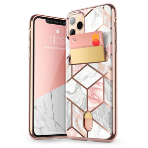 """Image 1 - i Blason For iPhone 11 Pro Case 5.8 inch (2019 Release) Cosmo Wallet Slim Designer Wallet Case Back Cover For iPhone 11 Pro 5.8"""""""