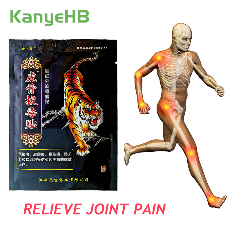 8pcs/bag Tiger Balm Pain Relief Patch Body Back Joint Muscle Arthritis 100% Original Chinese Natural Herbal Medical Plaster H040