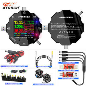 Charger Usb-Tester Voltage-Current-Ammeter-Detector Digital-Voltmeter Power-Bank Type-C