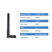 אנטנה עבור 5.8GHz נתב אנטנה Wifi 5.8G מודם אנטנה רב-כיוונית SMA זכר Antena עבור Aerial Aircard משחזר Netgear TX5800-JK-11 (2)