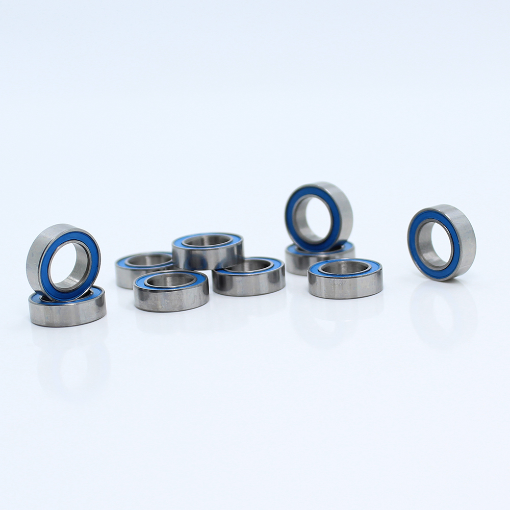 Rubber Double Sealed Ball Bearing MR115RS MR115-2RS 5x11x4 mm 5 PCS