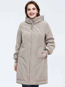 Astrid 2020 Весеннее новое поступление женская тренч верхняя одежда высокого качества размера плюс длинный стиль с капюшоном весеннее женское п...