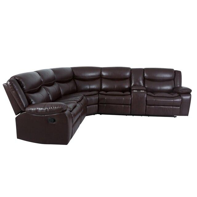 Manual Reclining Sectional Sofa Set  3