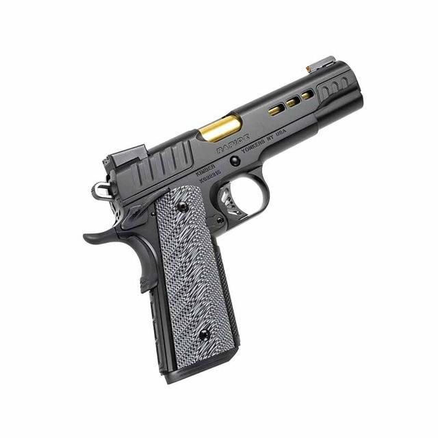 13cm*11cm For Kimber 1911 Rapide 10mm Pistol Fashion Graffiti Sticker Car Accessories Laptop Bumper Car Decals