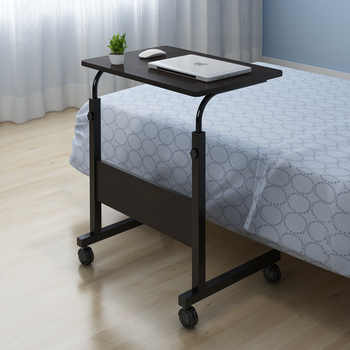 Laptop Desk for Bed Portable Computer Table Adjustable Laptop Movable Bed Table Can be Lifted Standing Desk 60*40CM