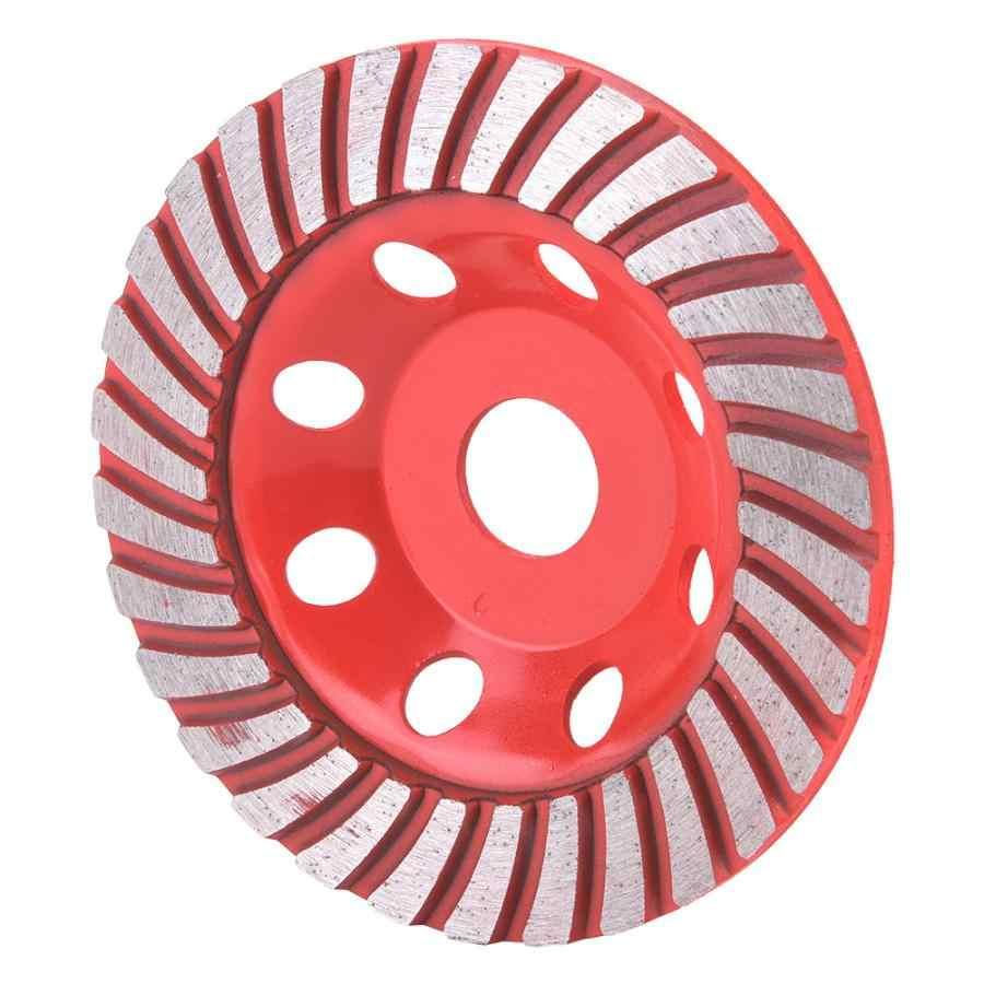 Disco De Corte Segmen Berlian 125 Mm Grinding Roda Cangkir Cutting Disc untuk Beton Marmer Granit Cakram Berlian Mengasah