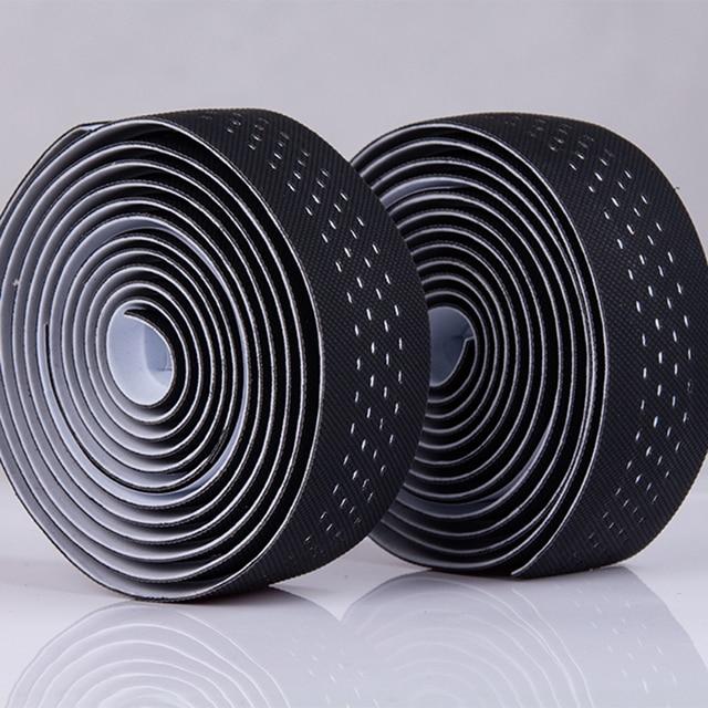 1 Pair Mountain Bike Road Cycling Handlebar Tape Belt Cycling Handle Bar Grip Anti-slip Wrap Sweat Strap