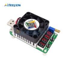 Probador USB LD25 LD35 4A 5A 25W 35W DC resistencia de carga electrónica probador de descarga de batería pantalla LED voltaje de corriente ajustable