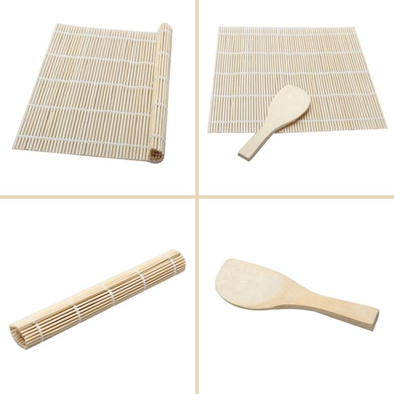 Японский набор для суши, коврик для суши, аксессуары bento, бамбуковые коврики, морские водоросли, ролл, инструменты для суши, прочный Набор для суши, инструменты для обеда-3