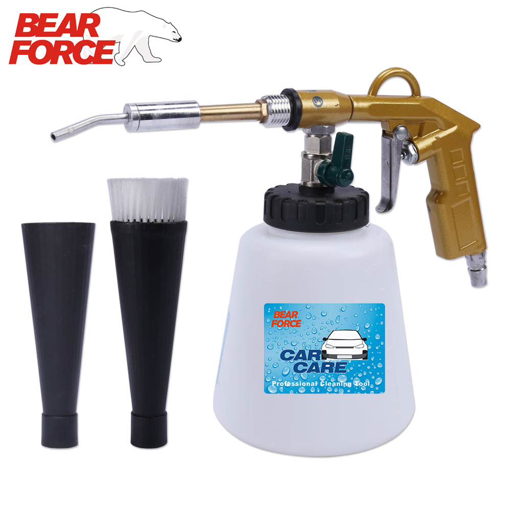 Tornado Pneumatic Air Foam Gun High Pressure Car Wash Interior Deep Cleaning Gun Tornado Espuma Tool With Rotation Bearing
