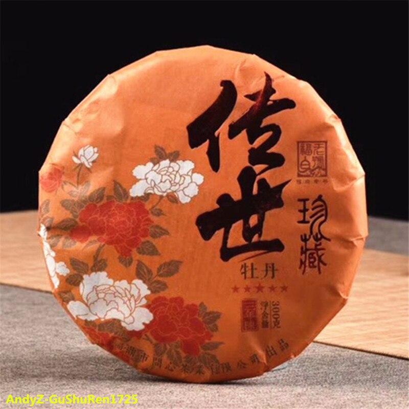 2018 китайский белый чай для похудения, пирог с пионами ChuanShi, белый чай 300 г для чистого огня, детоксикация, забота о здоровье, похудение, чай Смесители для бассейна      АлиЭкспресс