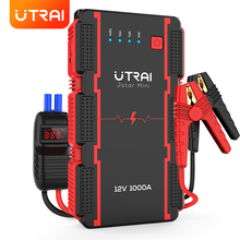 UTRAI Jump Starter 13000mAh 1000A Car Battery Starting Device Portable Power Bank Emergency
