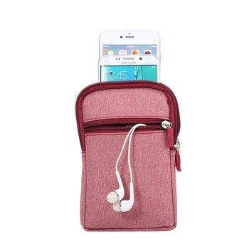 Sports Outdoor Belt Case, Universal Casual Waist Pouch Case, Cell Phone Purse Belt Bag for Men Wallet Belt Pouch For Smartphone