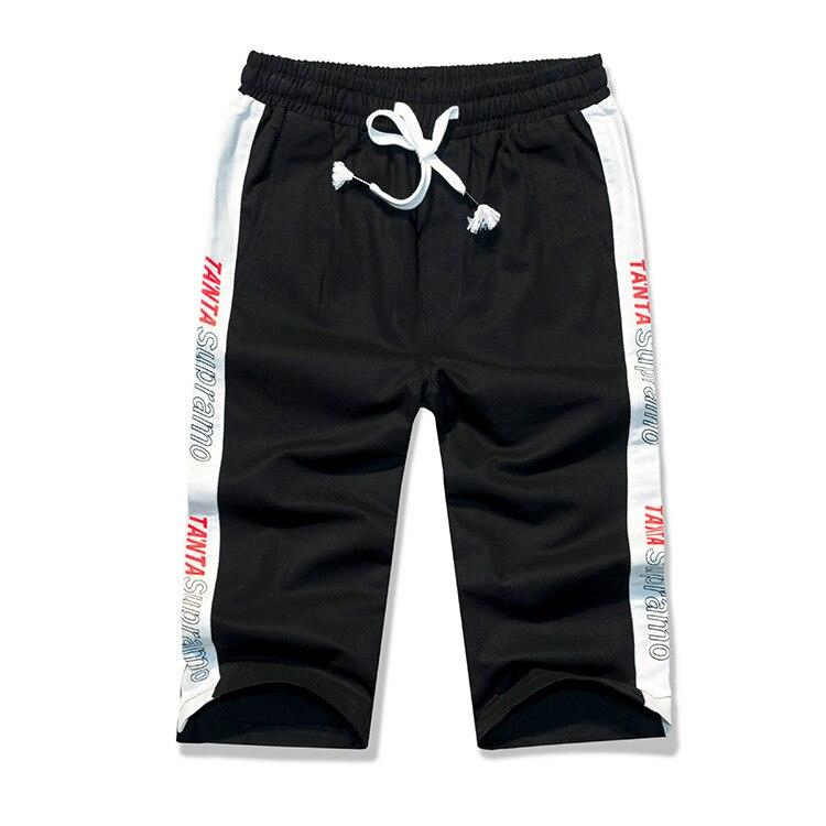 Pepp Summer Capri Pants Men's Slim Fit Straight-Cut 2019 New Style Youth Sports Shorts