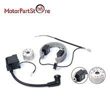 Motorrad Zündspule Rotor Stator Schwungrad Kit für 50 SX LC SR JR Pro Junior Mini Abenteuer Senior