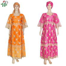 H&D Traditional African Dresses Women Plus Size Long Dress Dashiki Clothes South Africa Ankara 2021 robe africaine femme SP-31