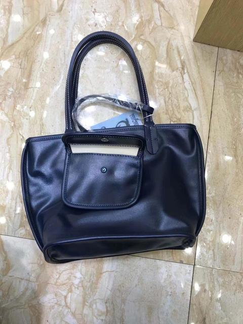 2019 high quality brand designer double sided shopping bag leather shopping bag handbag Handbag shopping bag