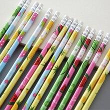 10 paczek/partia Kawaii świeże owoce ołówek HB szkic przedmioty rysunek papiernicze Student szkoła materiały biurowe dla dzieci prezent