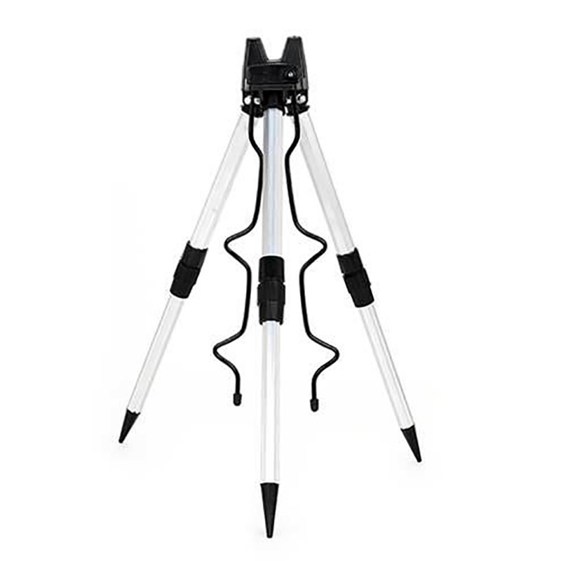 Aluminum Alloy Telescopic 5 / 7 Groove Fishing Rods Holder Collapsible Tripod Stand Sea Fishing Pole Bracket Fishing Rods Stand