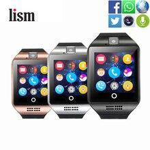 купить Smart Watch Q18 Bluetooth Smartwatch Facebook Whatsapp Twitter Sync Support SIM Card Fitness Tracker WristWatch for IOS Android по цене 331.97 рублей
