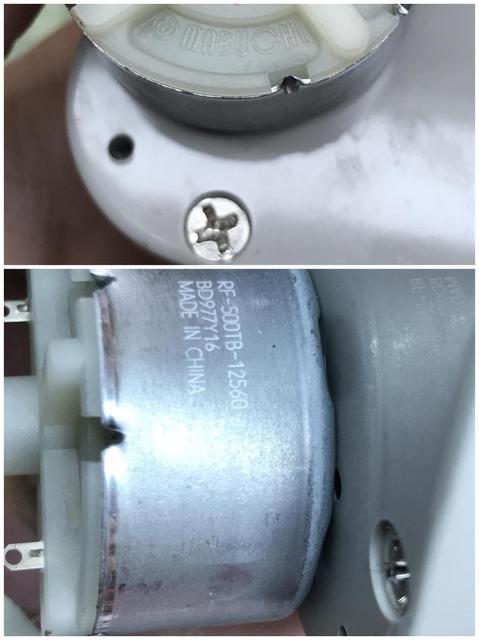 Bobinadora de reloj MABUCH accesorios especiales mecanismo de reloj de Motor de engranaje de CC caja de reloj de cuerda automática Motor