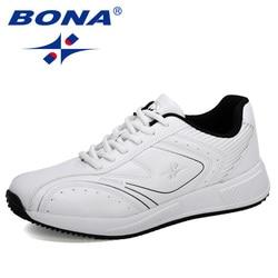 BONA 2020 Neue Designer Mikrofaser Männer Casual Schuhe Outdoor Wanderschuhe Mann Freizeit Schuhe Trendy Tenis Feminino Zapatos