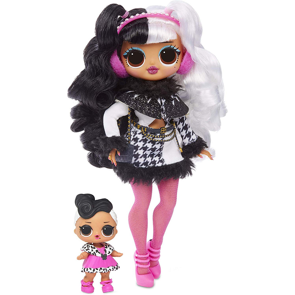 Сюрприз L.O.L! OMG зимняя диско Долли Модная Кукла и сестра LOL кукла