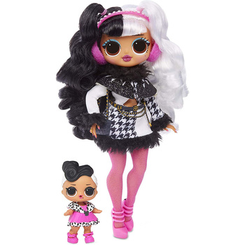 L.O.L Surprise! OMG  Winter Disco Dollie Fashion Doll & Sister LOL Doll l o l surprise lol surprise doll big sister cherry glam glitter series 2