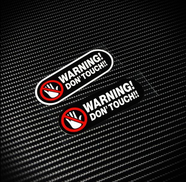 Предупреждение ющая наклейка, светоотражающая Предупреждение ниловая предупреждающая этикетка, наклейка на автомобиль, бампер, велосипед,...