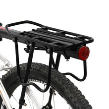 Bicycle Luggage Carriers Cargo Seat Post Carrier Rear Rack Fender Aluminum Alloy Frame Carrier Holder Mount Bicycle Pannier Rack