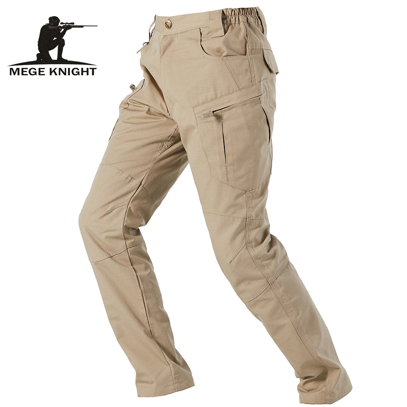 MEGE Brand Tactical Army Pants Camouflage Military Clothing Durable Rip Stop Cargo Pants  Combat Trousers Dropshipping